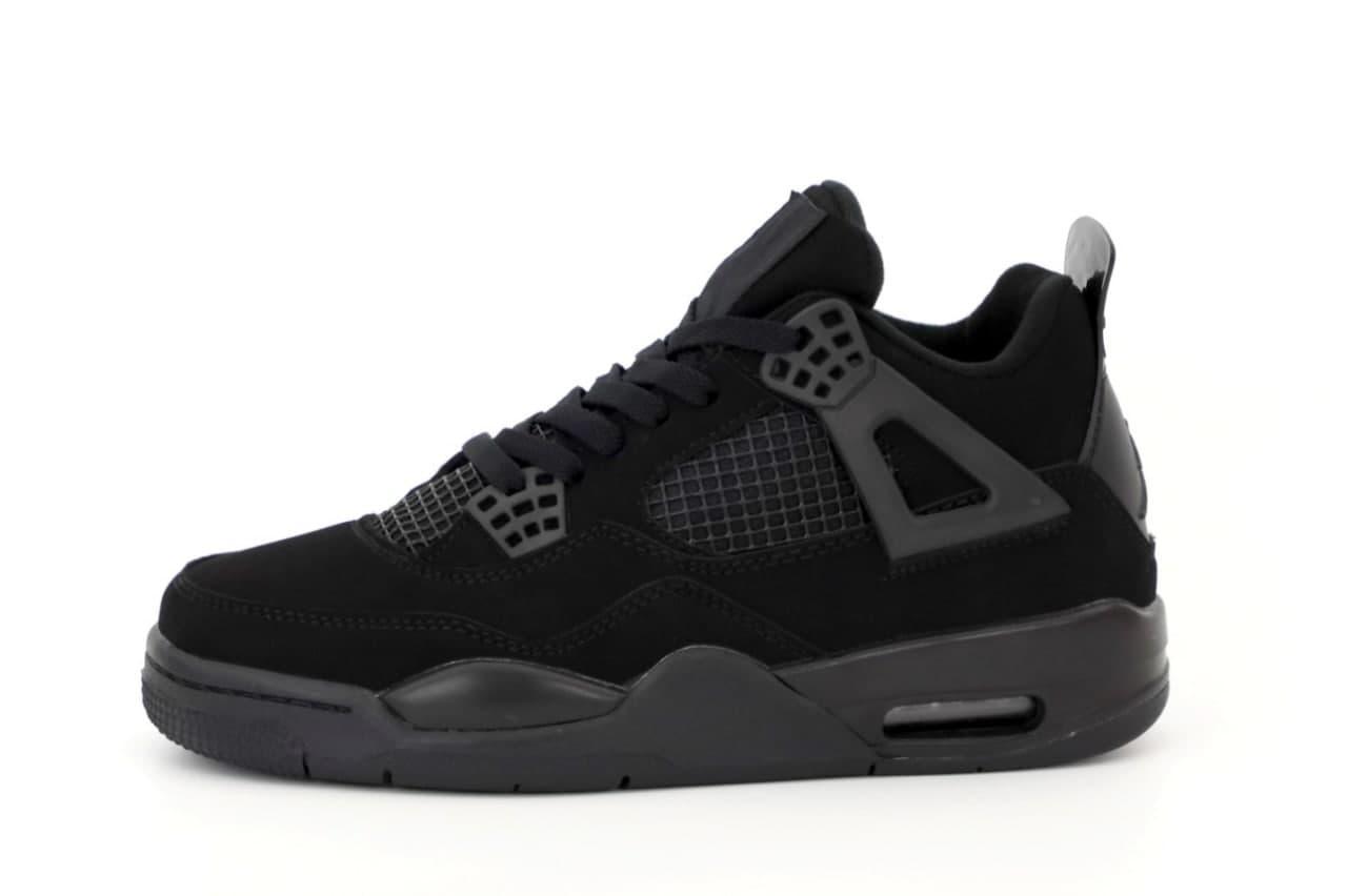 Баскетбольные кроссовки Air Jordan 4 Black