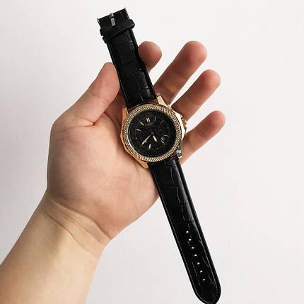 Часы наручные Breitling Black ремешок черный (реплика), фото 2
