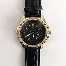 Часы наручные Breitling Black ремешок черный (реплика), фото 3