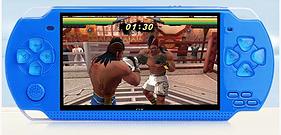 Портативная игровая приставка консоль PSP Х6 9999 ИГР!!! Синий