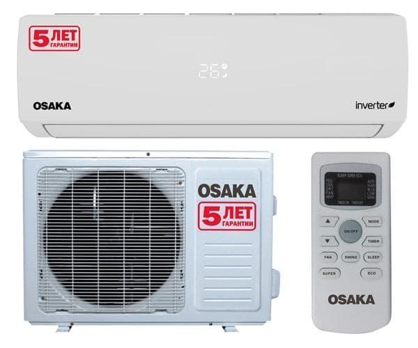 Кондиционеры OSAKA ST-18VHH INVERTER
