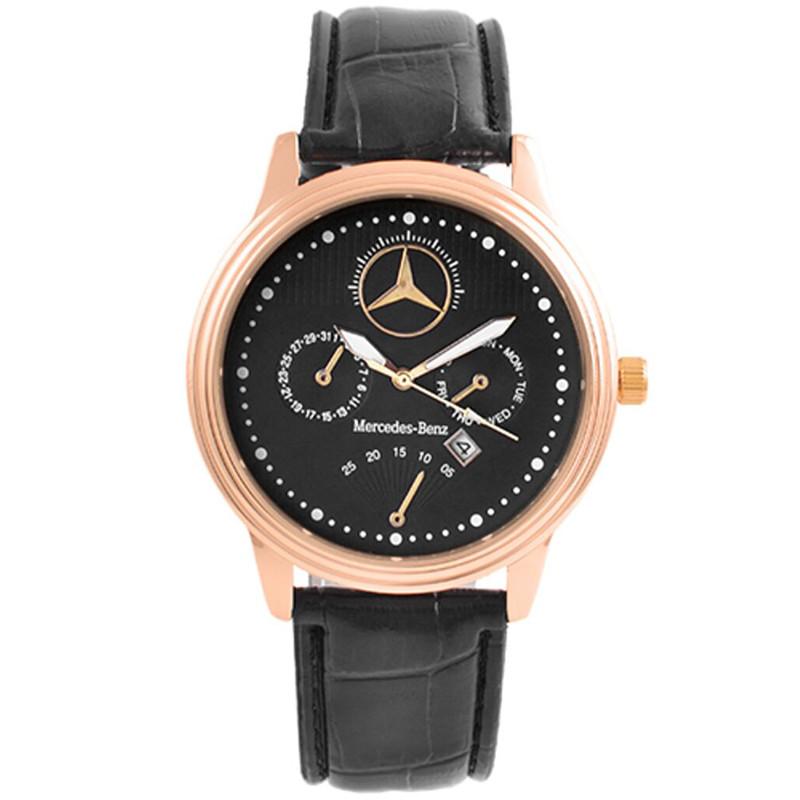 Годинники наручні Mercedes Black (репліка)