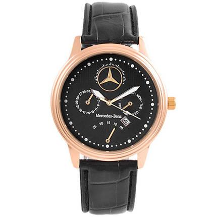 Годинники наручні Mercedes Black (репліка), фото 2
