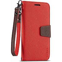 Чехол-книжка Muxma для Xiaomi Redmi Note 8 Pro Red