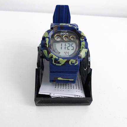 Часы наручные Polit, в коробке. Цвет: синий, фото 2