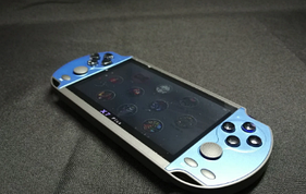 Игровая приставка  PSP X7 Plus (9999 игр) Синий