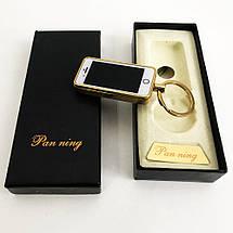 USB запальничка-брелок IPhone спіраль розжарювання, фото 3