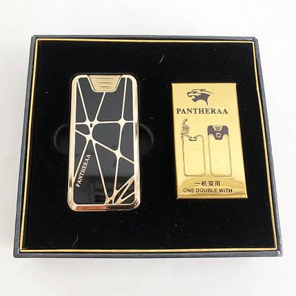 Електроімпульсна USB запальничка Pantheraa XT-4868 в подарунковій упаковці, фото 2