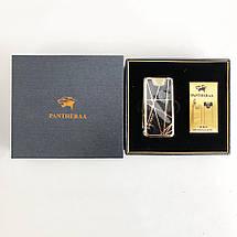 Електроімпульсна USB запальничка Pantheraa XT-4868 в подарунковій упаковці, фото 3