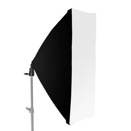 Одинарный софтбокс (студийный свет) 50 х 70см со стойкой 2м, фото 2