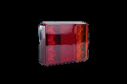 Фонарь LED задний универсальный 120 мм х 95 мм х 22 мм 12В