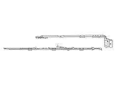Ножницы Roto 411-600 (правые)