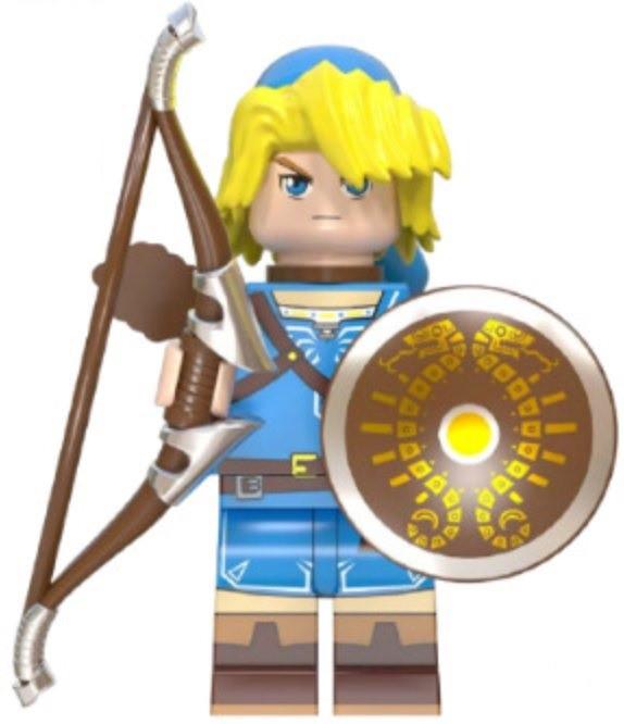 Фігурка Лінк Link The Legend of Zelda Аналог лего