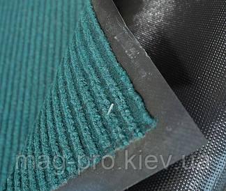 Решіток килимок 90*150 Вельвет (VelVet) Колір зелений 20