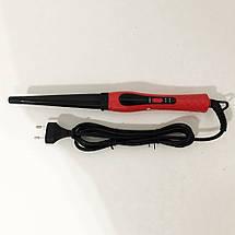 Конусная плойка для волос DOMOTEC MS-4907, фото 3