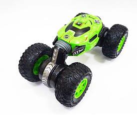 Машинка перевертыш трансформер вездеход  Dance Monster Зеленая