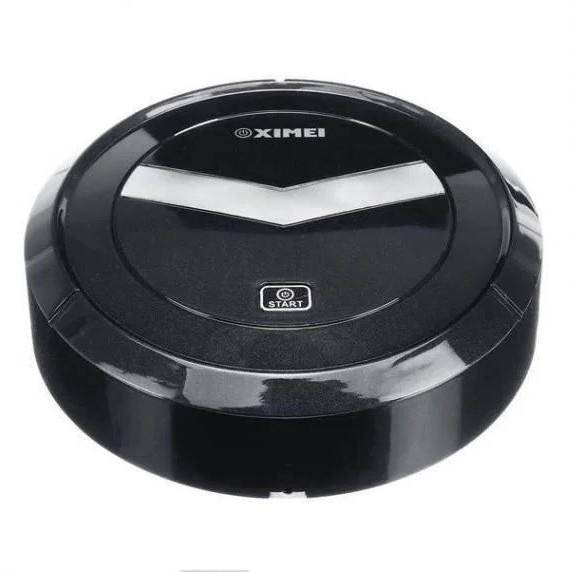 Автоматичний Робот-пилосос розумний пилосос на акумуляторі Ximei Mop. Колір чорний