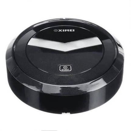 Автоматичний Робот-пилосос розумний пилосос на акумуляторі Ximei Mop. Колір чорний, фото 2