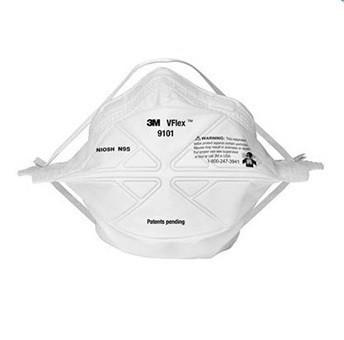 Медицинская маска респиратор 3M 9101 (3 МАСКИ)