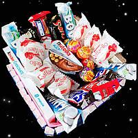 Подарок девушке, подруге, подростку, ребенку, маме - набор сладостей, букет из конфет