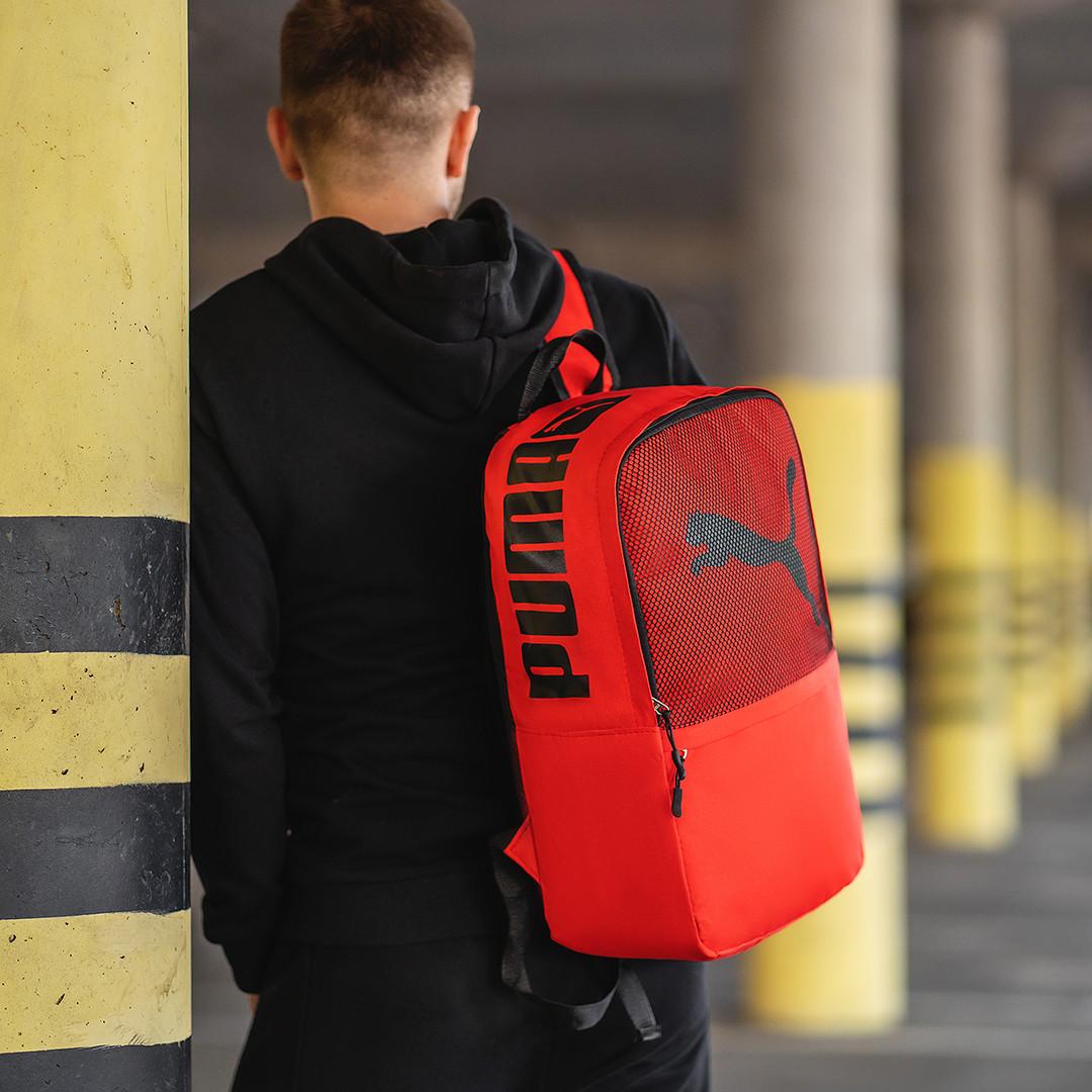 Городской стильный молодежный рюкзак Спорт, спортивный рюкзак, сумка для спорта, цвет красный