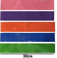Набор резинок для фитнеса, ленточных эспандеров, кольцо 3062, 5 шт в мешочке