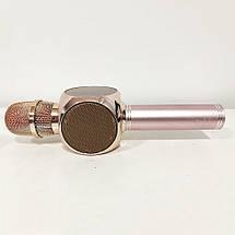 Бездротової Bluetooth Мікрофон для Караоке Мікрофон Karaoke DM Y 63 + BT. Колір: рожевий, фото 3
