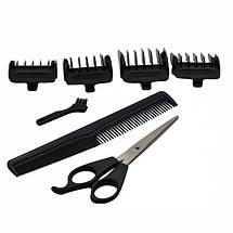 Провідна професійна машинка для стрижки волосся GEMEI GM-813, фото 3