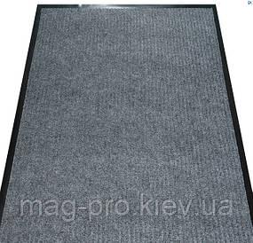 Решіток килимок 120*180 Вельвет (VelVet) Колір світло-сірий 25