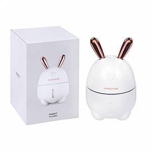 Увлажнитель воздуха и ночник Кролик 2в1 Humidifiers с подсведкой, ультразвуковой