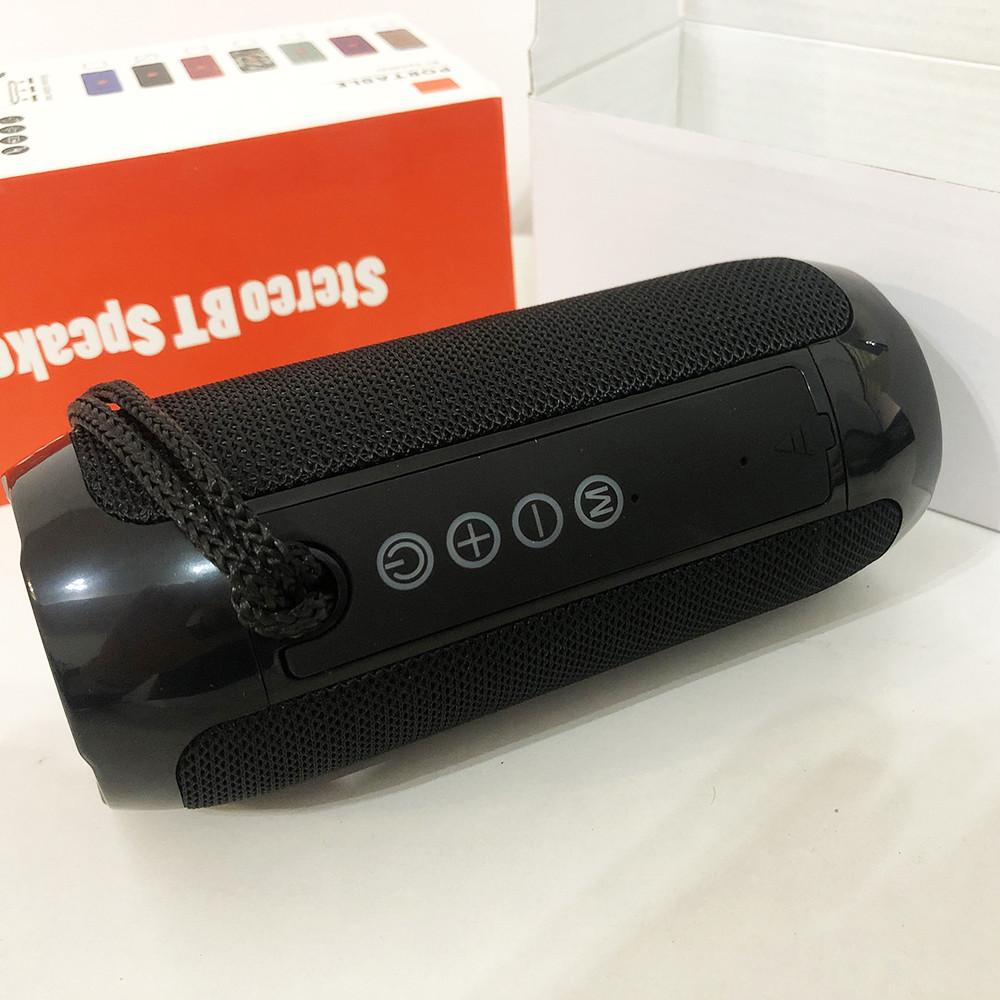 Bluetooth-колонка TG-117 портативна вологостійка. Колір: чорний