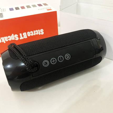 Bluetooth-колонка TG-117 портативна вологостійка. Колір: чорний, фото 2