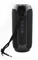 Bluetooth-колонка TG-117 портативна вологостійка. Колір: чорний, фото 3