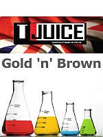 Набор для замеса жидкости T-Juice Gold 'n' Brown 100 мл.