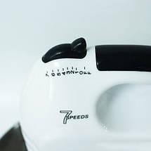 Міксер CROWNBERG CB-7321 з чашею/метал, фото 3