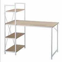 Письмовий стіл з поличками Лофт 1200х1200х580, СП08