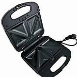 Сендвичница мультипекарь 4 в1 Grant Hoff GT-779 1200W | Сендвичница-гриль, бутербродниця, вафельниця, горішниця, фото 8