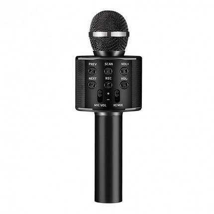 Микрофон WS-858 WSTER BLACK. Цвет: черный, фото 2