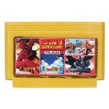 8 bit картридж 4 в 1 TTL-6155 (Spider,Snow Bros,Birdweek,Batman)