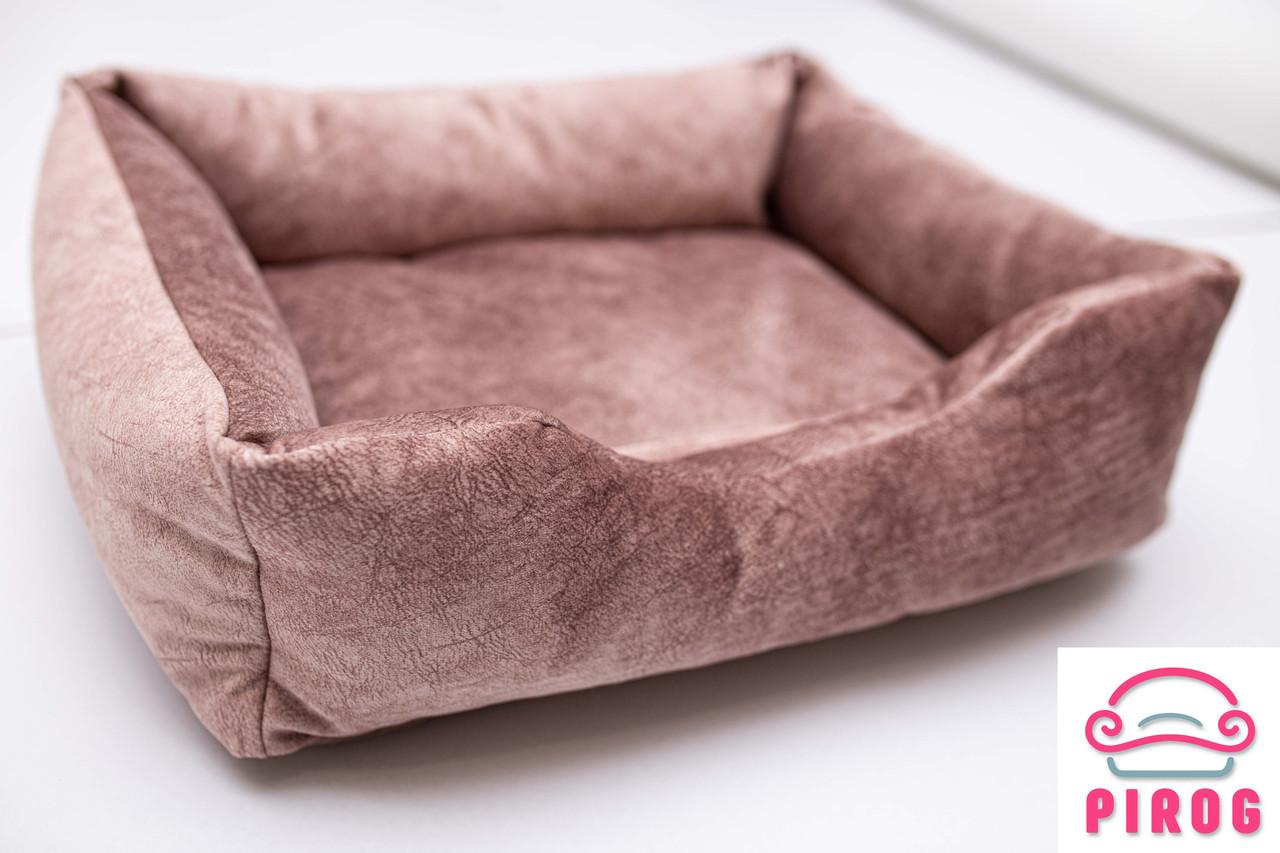 Лежак для кота или собаки  Коричневый