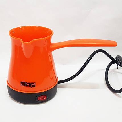 Турка електрична DSP. Колір: помаранчевий, фото 2