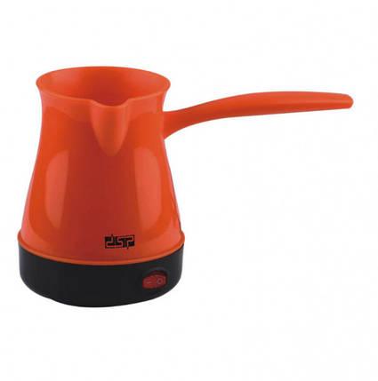 Турка электрическая DSP. Цвет: оранжевый, фото 2