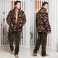 Піжама чоловіча, тепла піжама чоловіча 50-52, камуфляж