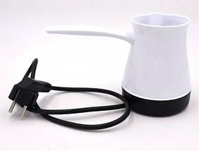 Турка электрическая DSP. Цвет: белый, фото 2