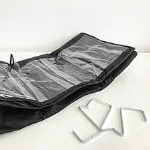 24 кишені сумка для зберігання взуття над дверима настінний органайзер для взуття, фото 2