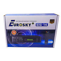 Цифровой Т2 тюнер Es-14 ТМ Eurosky