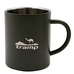 Термокружка Tramp 450 мл олива TRC-010.12