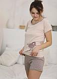 Піжама з шортами,Miss Victoria 65343, фото 2