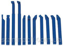 Резцы токарные Optimum 10х10мм 11шт ( отрезные, проходные, подрезные, расточные арт 3441602 )