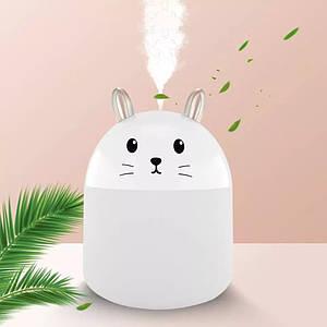 Увлажнитель воздуха и ночник Котик 2в1 Humidifiers с подсведкой, ультразвуковой